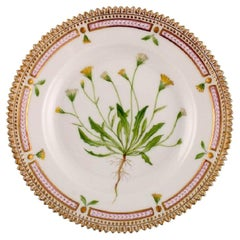 Royal Copenhagen Flora Danica Dessert Plate in Hand-Painted Porcelain