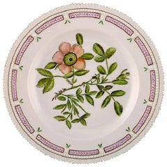 Royal Copenhagen Flora Danica Dinner Plate, Dated 1954
