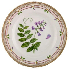 Royal Copenhagen Flora Danica Dinner Plate in Hand Painted Porcelain