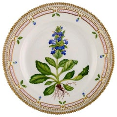 Royal Copenhagen Flora Danica Dinner Plate in Hand Painted Porcelain