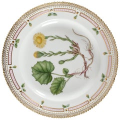 Royal Copenhagen Flora Danica Dish or Lunch Plate #3550 from 1969-1974