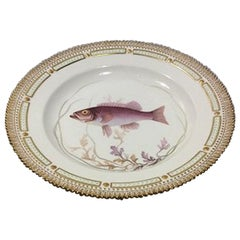 Royal Copenhagen Flora Danica Fish Plate No. 19/3549