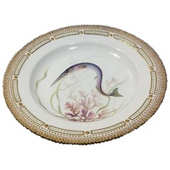 Royal Copenhagen Flora Danica Fish Plate No 19/3549