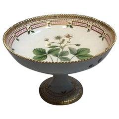 Royal Copenhagen Flora Danica Footed Bowl No 3588