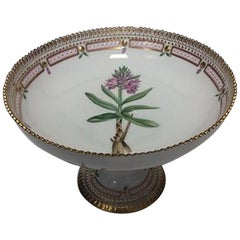 Royal Copenhagen Flora Danica Footed Bowl No 3588 a