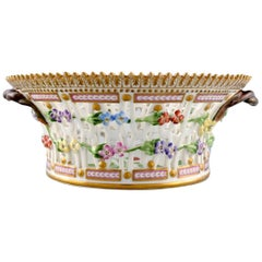 Royal Copenhagen Flora Danica Fruit Bowl Made of Porcelain, Model No 20/3534