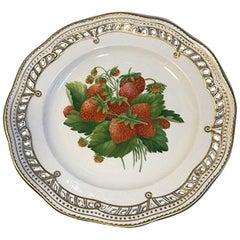 Royal Copenhagen Flora Danica Fruit Plate No 429/3584