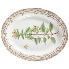 Royal Copenhagen Flora Danica Large Oval Dish or Platter #3517 from 1946