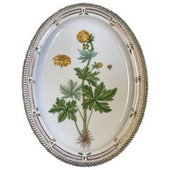 Royal Copenhagen Flora Danica Large Oval Serving Platter No 3520