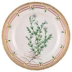 Royal Copenhagen Flora Danica Lunch Plate, Model Number 20/3550