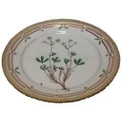 Royal Copenhagen Flora Danica Luncheon Plate Full Flat No. 3572