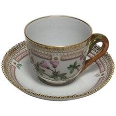 Royal Copenhagen Flora Danica Mocha Cup No. 3618