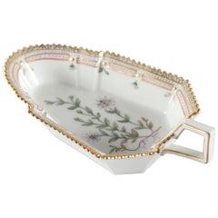 Royal Copenhagen Flora Danica Oblong Dish Or Minor Serving Tray #3543