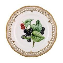 Royal Copenhagen Flora Danica Openwork Plate