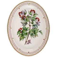 Royal Copenhagen Flora Danica Oval Serving Dish # 20/3519