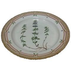 Royal Copenhagen Flora Danica Round Platter No 3523
