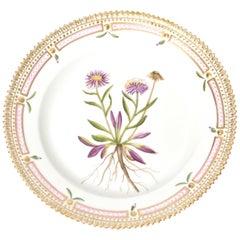 Royal Copenhagen Flora Danica Salad Plate Eigeron eriocephalus J. Vahl #20/3573