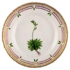 Royal Copenhagen Flora Danica Salad Plate in Hand Painted Porcelain