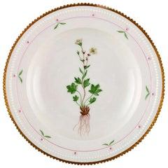 Royal Copenhagen Flora Danica Soup Plate