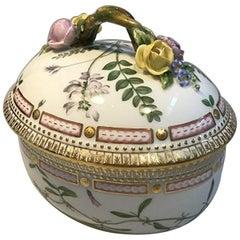 Royal Copenhagen Flora Danica Sugar Bowl No 20/3582 Latin Name Orobus Auberosus