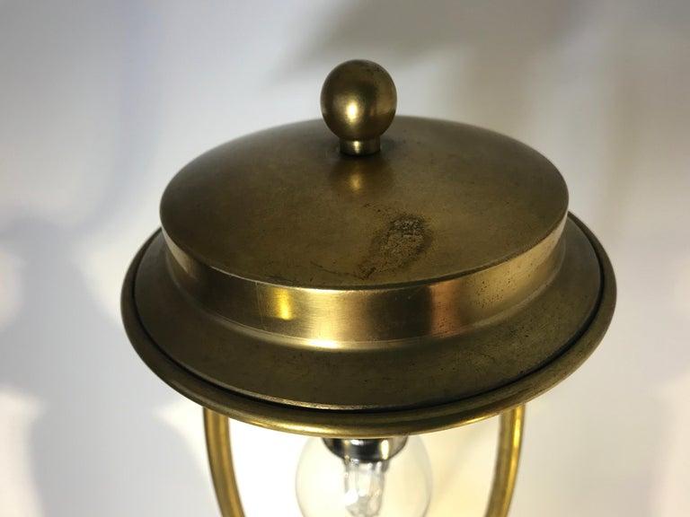 Royal Copenhagen Louis XVI St. 1900s White Porcelain and Gilded Rams Lamp #11537 For Sale 4