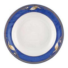 "Royal Copenhagen, ""Magnolia"" Deep Plate, 10 Pieces in Stock"