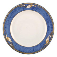 "Royal Copenhagen, ""Magnolia"" Dinner Plate, 10 Pieces in Stock"