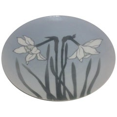 Royal Copenhagen Motif Plate with Easter Lilly No. 65/8