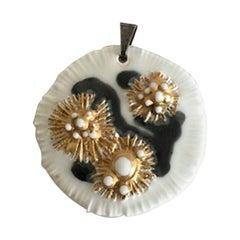 Royal Copenhagen Porcelain Pendant Piece for Necklace