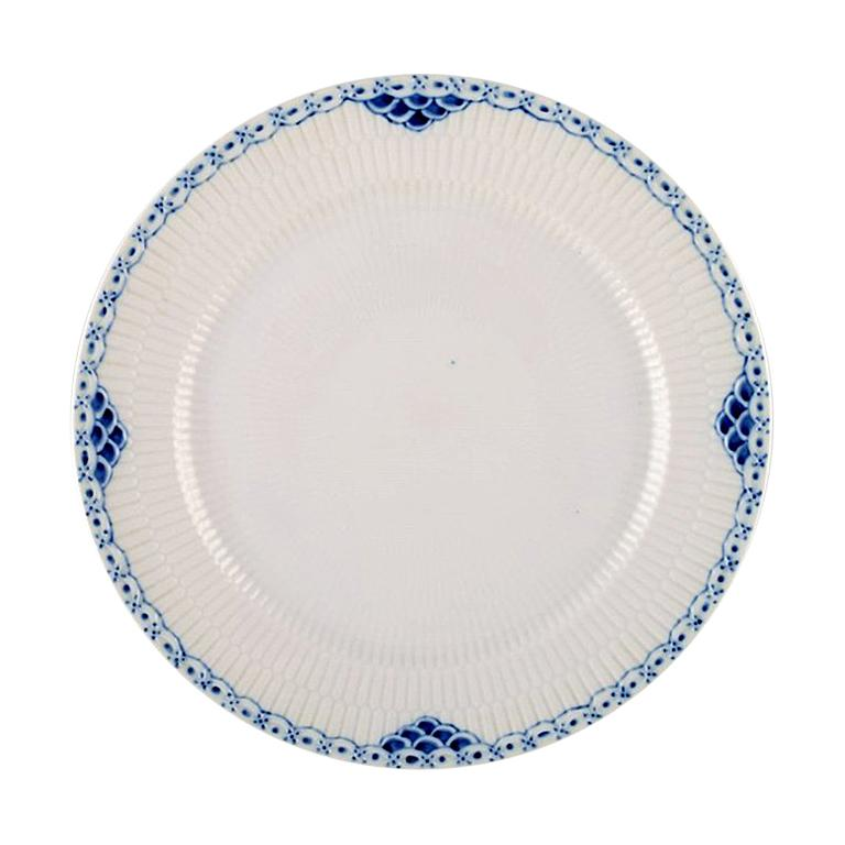 """Royal Copenhagen """"Princess"""" Dinner Plate or Cover Plate, 9 Pieces For Sale"""