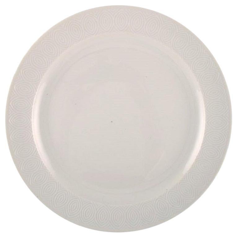 Royal Copenhagen, Salto Service, White, Large Round Serving Dish, 1962