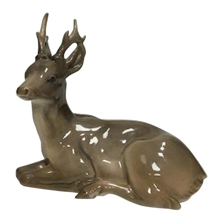 Royal Copenhagen Stag Figurine No 756