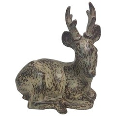 Royal Copenhagen Stoneware Figurine of Deer No 20507, 1st Quality