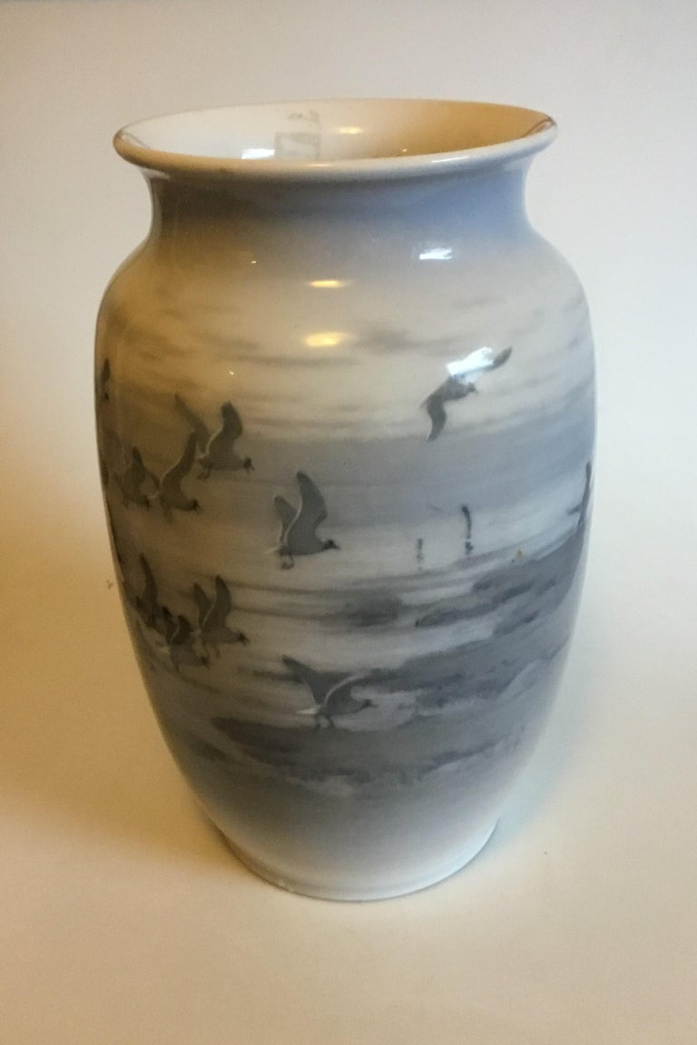 Royal Copenhagen Unique Vase by Gotfred Rode from 1931.   Measures 42 cm / 16 17/32 in.   Is in perfect condition.