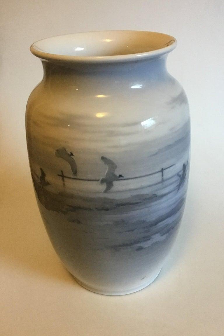 Art Nouveau Royal Copenhagen Unique Vase by Gotfred Rode from 1931 For Sale