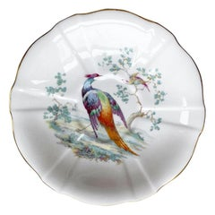 Royal Crown Derby Ceramic Pheasant Bird Saucer or Vide Poche, England