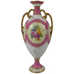 Royal Crown Derby Porcelain Vase, Dated 1902