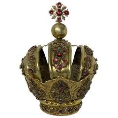 Royal Crown for Santo or Infant Jesus of Prague