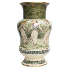 Royal Doulton Antique Hand Painted Exposition Vase