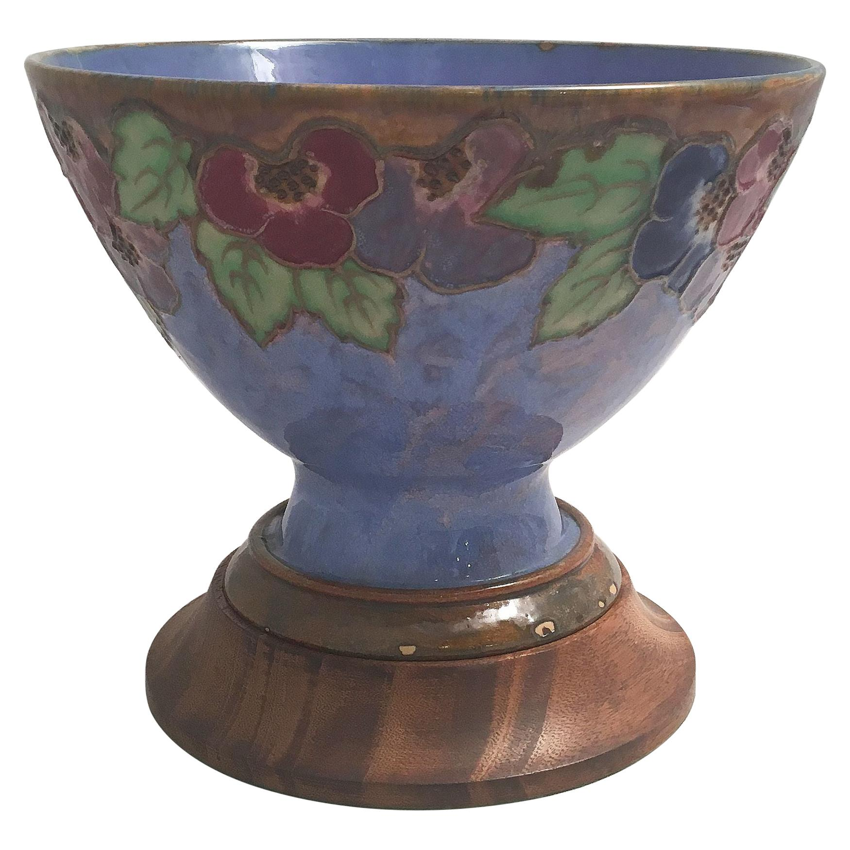 Royal Doulton Bowl and Vase from the Arts and Crafts Period