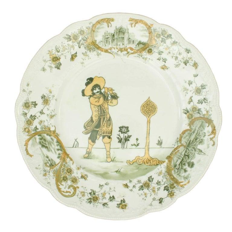 Royal Doulton Golfing Plate