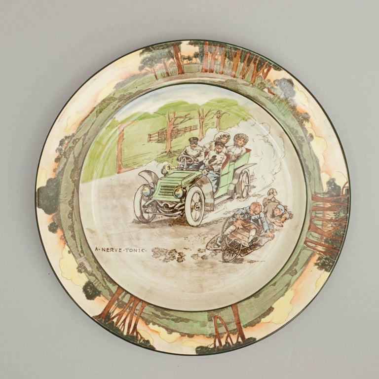 Rare royal Doulton motoring plate.