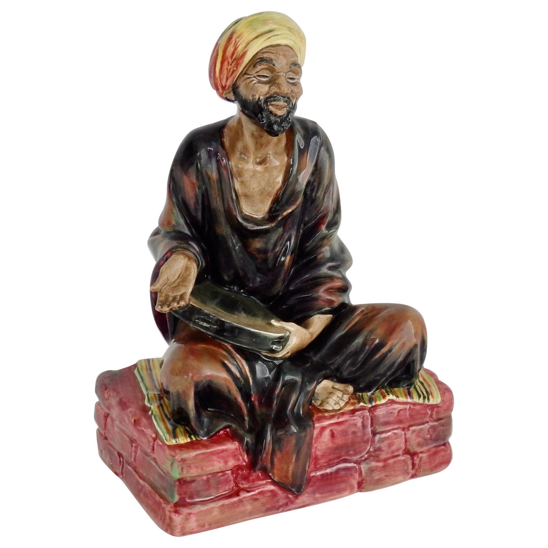 """Royal Doulton Porcelain Figurine, """"The Mendicant"""""""