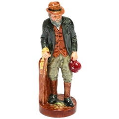 "Royal Doulton ""The Gaffer"" British Porcelain Figurine"