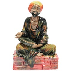 "Royal Doulton ""The Mendicant"" Arab Decorative Porcelain Figurine"