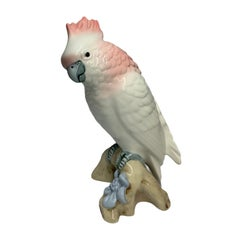 Royal Dux Porcelain Cockatoo Figure