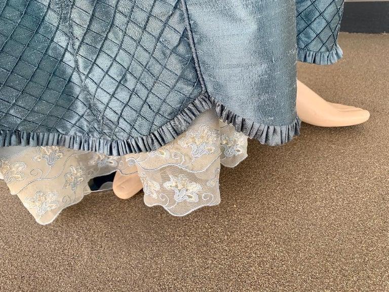 Royal French Marie Antoinette Style Custom Made Silk Ballroom Gown Dress 8