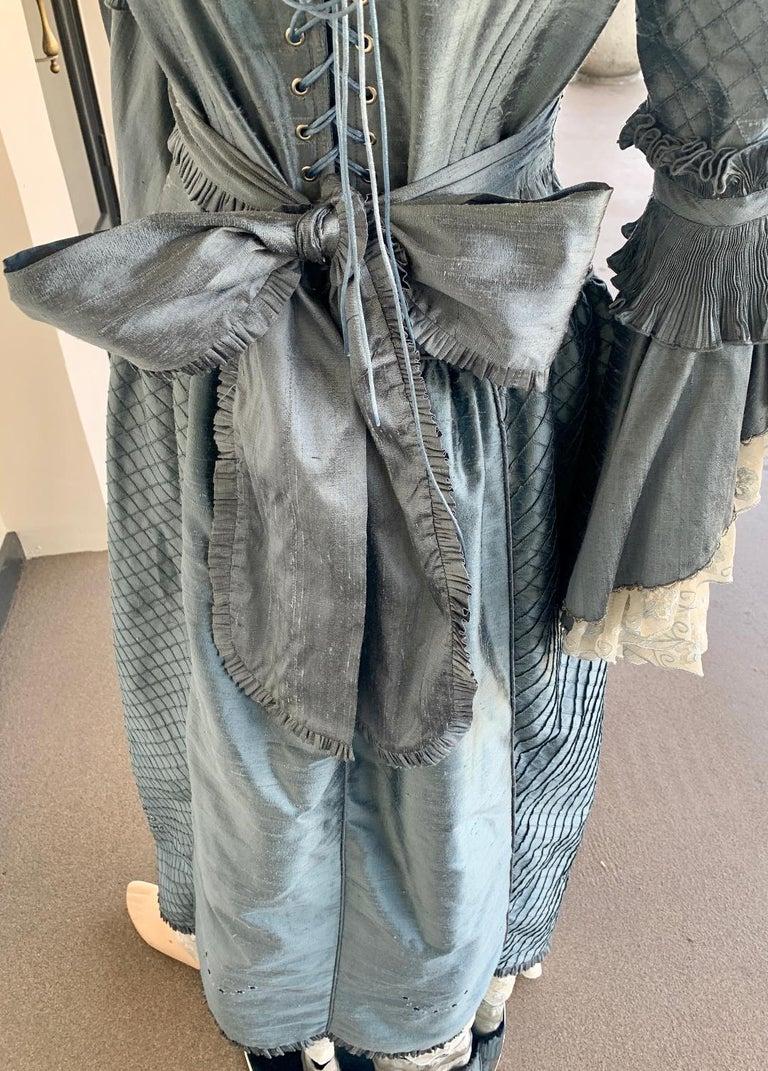 Royal French Marie Antoinette Style Custom Made Silk Ballroom Gown Dress 2