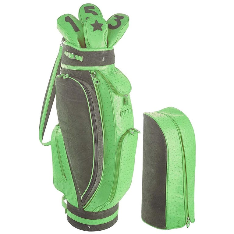Royal Green Golf Bag by Barchi For Sale