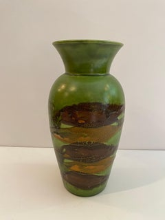 Royal Haeger Green Vase